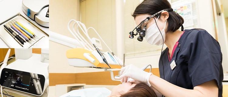 認定歯科衛生士による予防的な処置